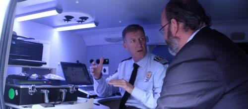 Presentan los equipos informáticos de los vehículos de la Policía Judicial
