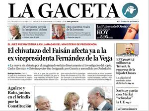 TVE da por finiquitada a La Gaceta