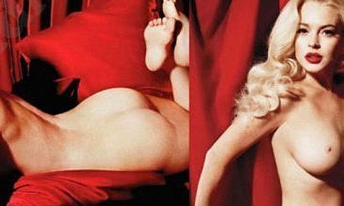 Lindsay Lohan Nude Elie Chahine