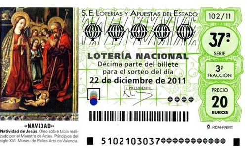 FUCI avisa de la venta de lotería de Navidad falsa en Internet