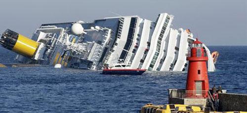 Desaparecido un español en el naufragio del 'Costa Concordia'