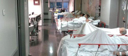 46 pacientes esperan días en Urgencias de Son Espases por falta de camas