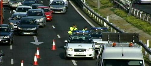 Accidente múltiple con varios heridos en la Vía Cintura de Palma