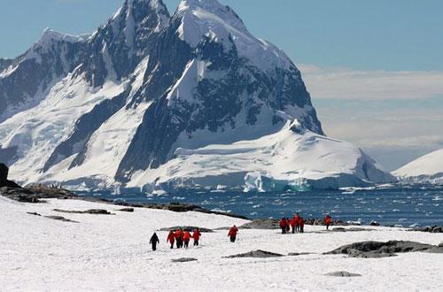 Twitter une la Antártida con el resto del mundo en tiempo real