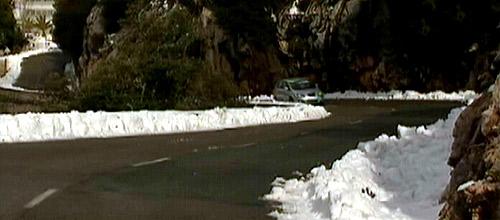 Reabren las carreteras de la Serra de Tramuntana cerradas por nieve y hielo