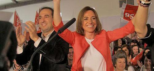 Chacón presenta su candidatura para liderar el PSOE