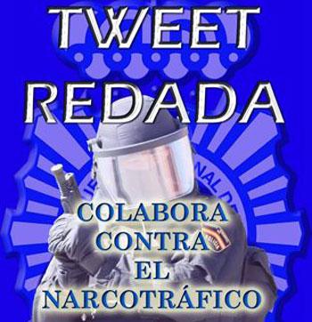 Tweetredada de la Policía contra el tráfico de drogas