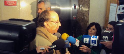 """Ruiz-Mateos se niega a declarar y acusa a Botín de """"manejar a los jueces"""""""
