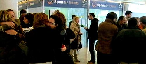 Los 240 trabajadores de Spanair en Baleares presentan dos denuncias
