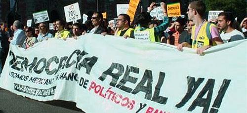 El movimiento 15-M listo para volver a las calles