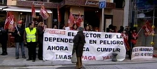 Bauzá se compromete a regularizar las pagas ordinarias de las residencias de ancianos antes del cinco de marzo