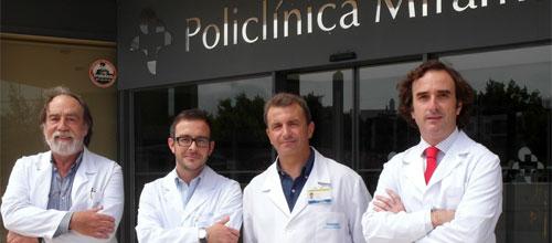 Policlínica Miramar acoge un curso de iniciación a la cirugía plástica