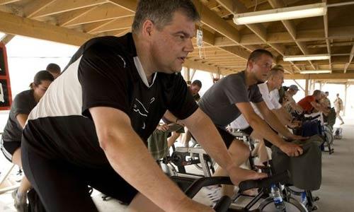 El 'spinning' desencadena efectos similares a los de un infarto