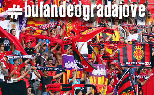 6.000 globos rojos ante el Villarreal