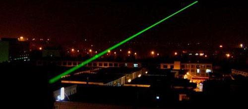 Incautan más de 2.000 punteros láser clasificados como peligrosos