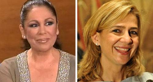 Isabel Pantoja critica que no se impute a la Infanta