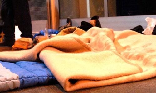 Aumentan las personas que duermen en nuestras calles