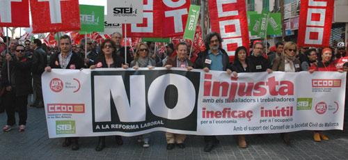 Los sindicatos convocan a unas 1.500 personas