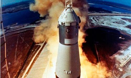 Encontrados los motores del Apolo 11 en el fondo del Atlántico
