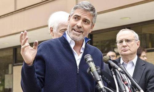 Clooney, en libertad