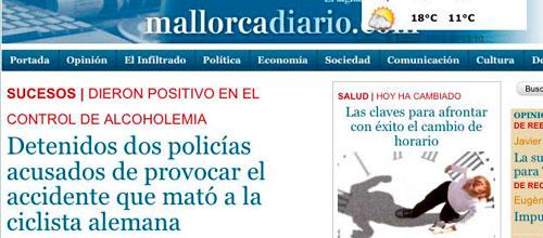 mallorcadiario.com lo adelantó ayer noche
