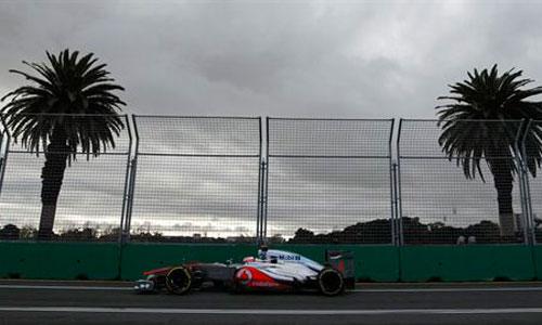 Button lidera el doblete de McLaren