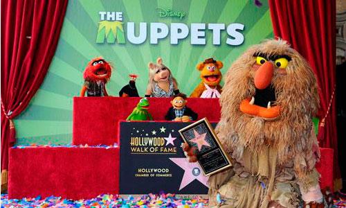 Los Muppets en el Paseo de la Fama