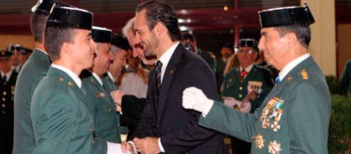 Sánchez Rufo también reúne a la cúpula de la Guardia Civil