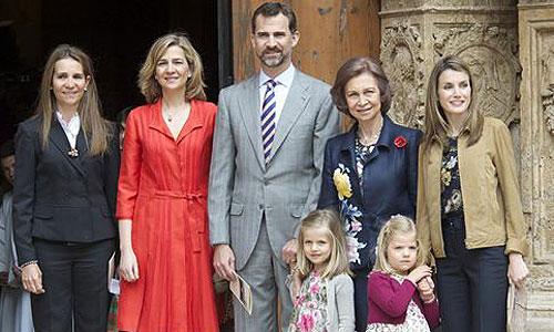 La Familia Real acudirá este domingo a la Catedral