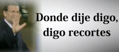 El PSOE lanza un video para denunciar los recortes del PP en sanidad