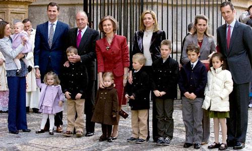 Urdangarín y la Infanta no estarán en Palma durante la Semana Santa