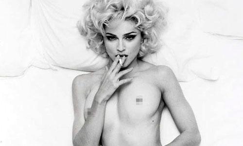Subastan un desnudo inédito de Madonna
