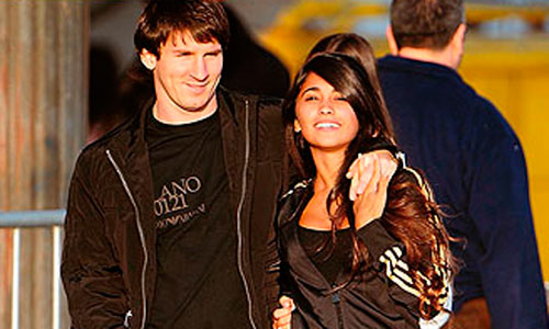 Messi y Antonella Roccuzzo van a ser padres