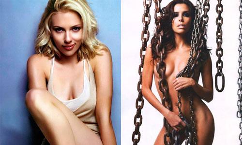 Los asientos traseros y la sumisión 'calientan' a Scarlett Johansson y Eva Longoria