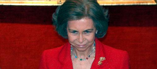 La Reina se solidariza con los recortes sufridos por la Orquesta Sinfónica