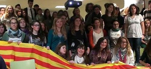 Los estudiantes del IES Felanitx arremeten contra Bauzá