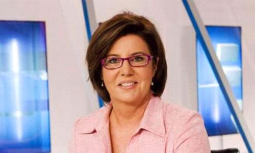 María Escario regresa al Telediario