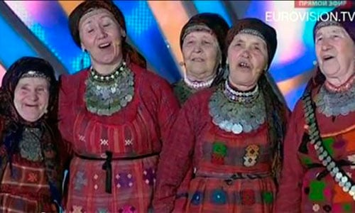 Las abuelas rusas, a la final de Eurovisión