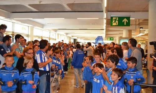 El Estadio Balear, a tope