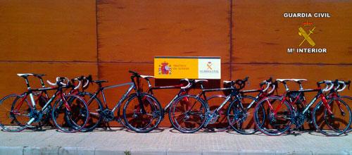 Arrestadas 10 personas acusadas de robar 81 bicis valoradas en 90.000€