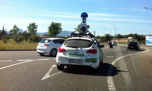 El coche de Google Street View