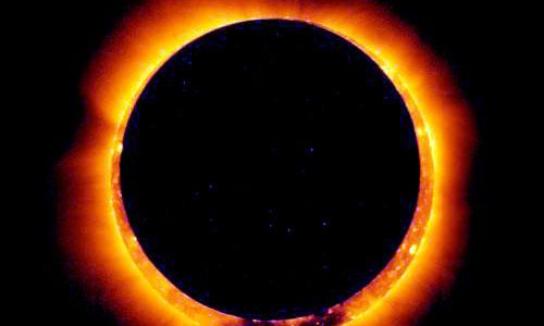 Millones de personas observan el eclipse anular de Sol