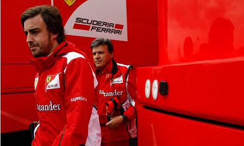 Ferrari suspende su jornada de trabajo por el terremoto