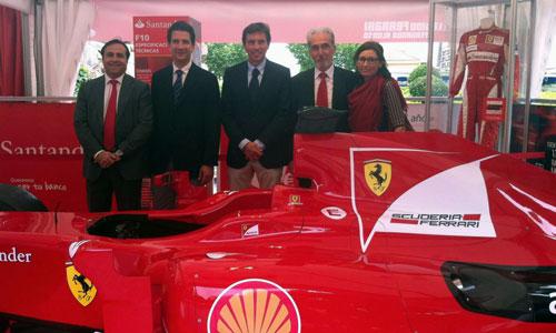El coche de Fernando Alonso, en Palma hasta el domingo