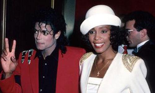 Jackson tuvo un romance con Houston y no pudo olvidarla
