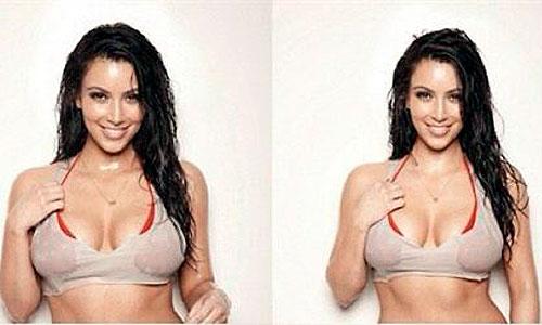Kim Kardashian regala un posado