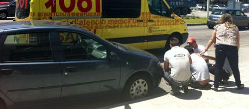 Detenido un hombre por apuñalar a su exjefe en el Polígono de Son Castelló