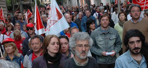 Unas tres mil personas se manifiestan en Palma