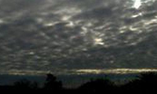 Nubes en Mallorca y alerta amarilla en Menorca