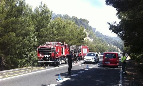 Controlado el incendio del Puig de n'Andritxol